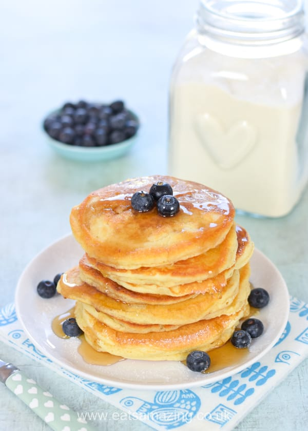 How to make instant pancake mix - an easy recipe for delicious American style pancakes whenever you want them