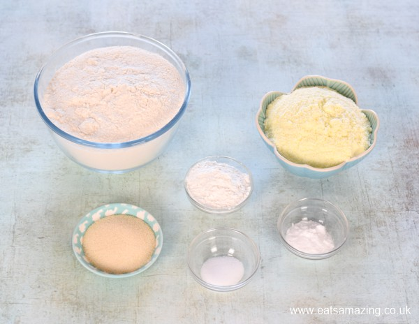 How to make your own instant pancake mix - recipe ingredients