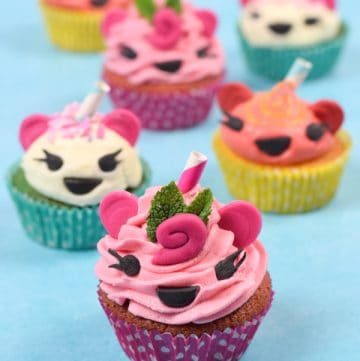 Fun and easy Num Noms Cupcakes recipe - perfect for Num Noms themed party food