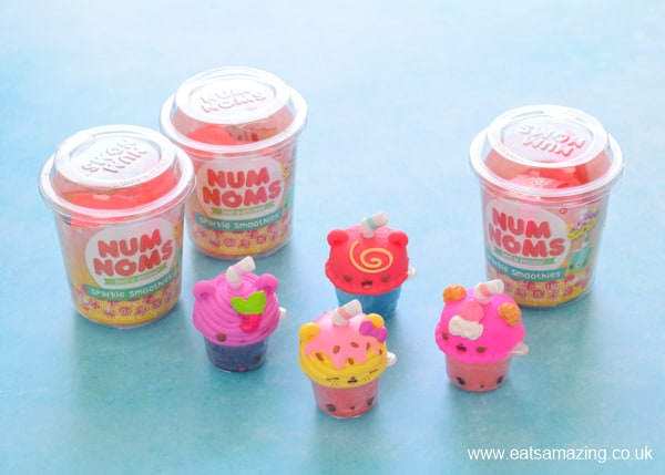 Sparkle smoothies Num Noms collectable toys