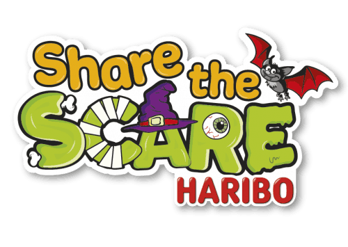 Share the Scare logo_with HARIBO