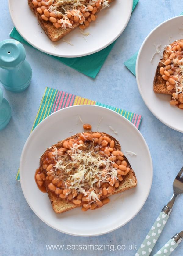 How to make the BEST beans on toast - easy recipe for kids