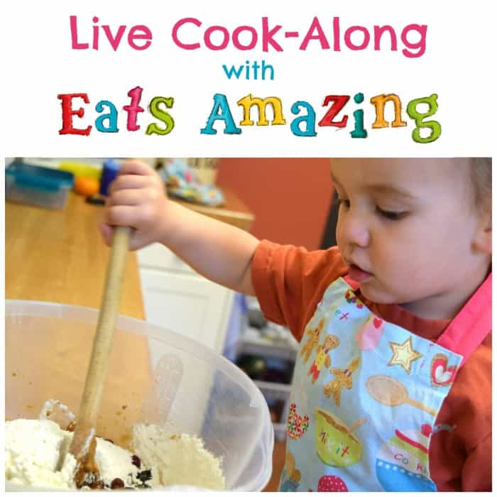 Head over to the Eats Amazing Facebook page for weekly live cook-along sessions every Tuesday and Thursday