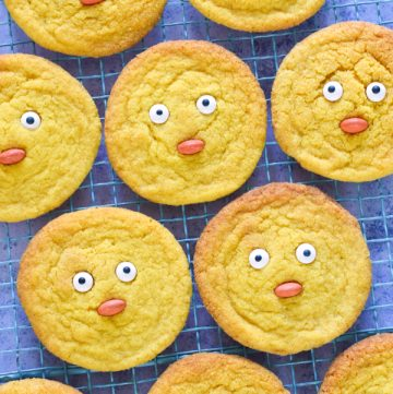 Cute and easy chick cookies recipe - fun cookie recipe for kids this spring and Easter