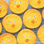 How to make cute and easy spring chick cookies - fun recipe for kids