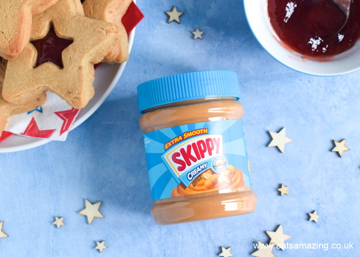 SKIPPY extra smooth peanut butter - cookie recipe