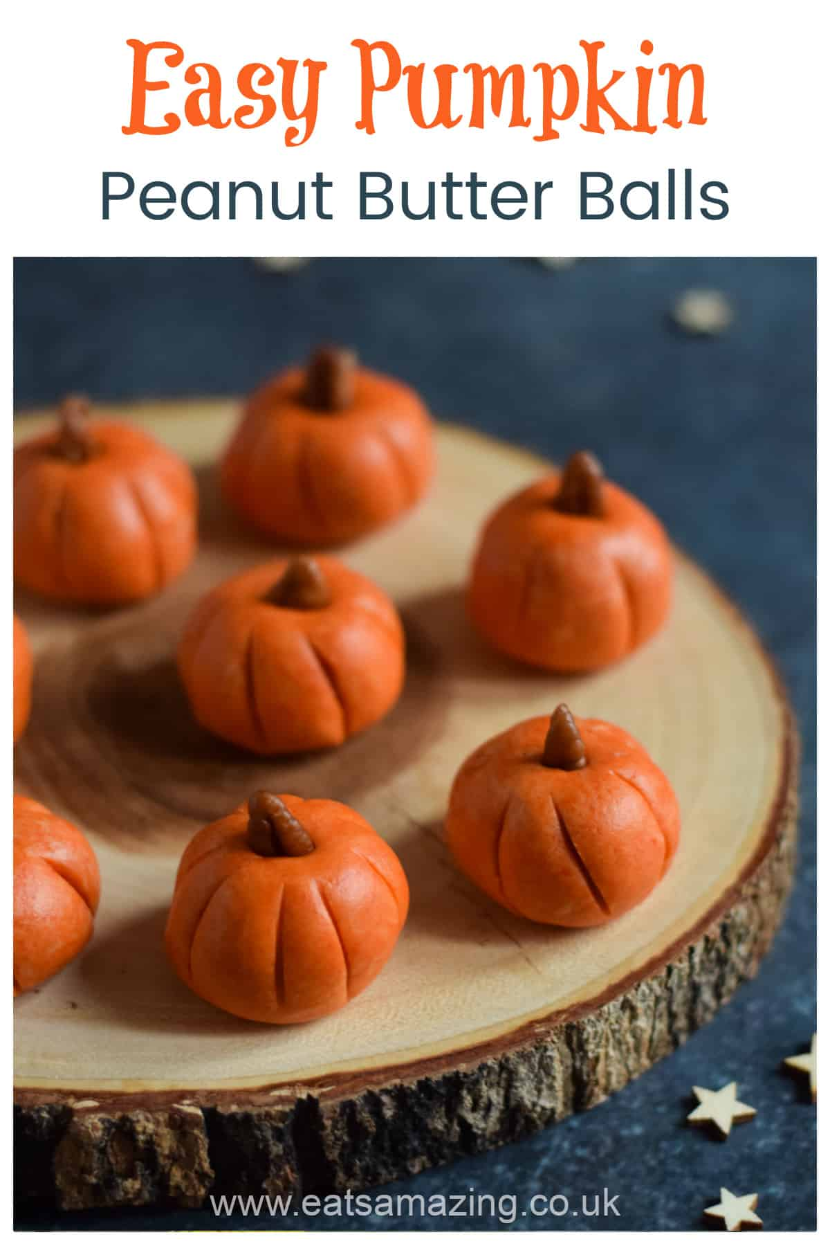 How to make cute and easy Mummy Peanut Butter Balls - fun Halloween recipe for kids