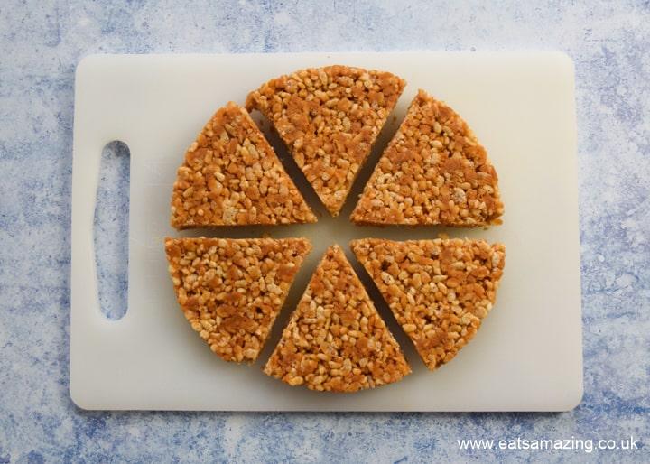 Easy Peanut Butter Rice Crispy Treats recipe