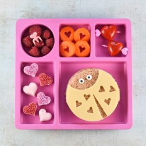 Cute and easy Valentines themed lunches for kids