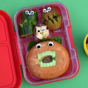 Fun and easy Halloween themed lunches for kids