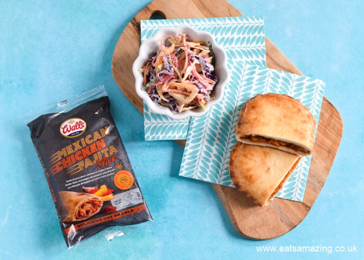 My review of new Walls Pastry Microwave slices - the Mexican Chicken Fajita slice