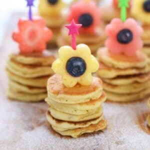 fun flower themed recipes and food art for kids