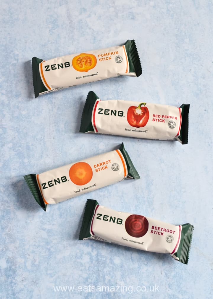 ZENB Veggie Bars Review and Carrot Cake Porridge Recipe from Eats Amazing
