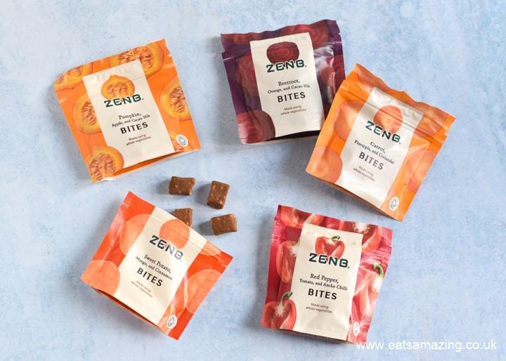 ZENB Veggie Bites Review with vegan Carrot Cake Porridge Recipe from Eats Amazing