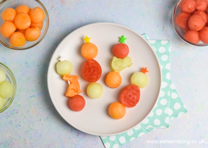 Easy Easter Fruit Skewers - fun and healthy Easter recipe for kids