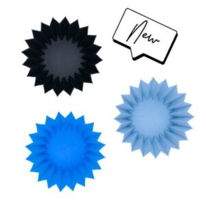 Lunch Punch Jumbo Silicone Cups UK Set of 3 - Blue