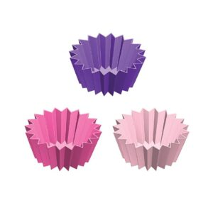 Lunch Punch Jumbo Silicone Cups UK Set of 3 - Pink