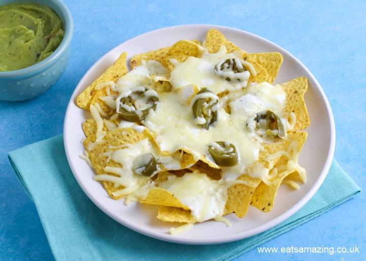 How to make easy microwave nachos recipe
