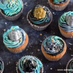 How to make quick and easy Star Wars Galaxy Cupcakes recipe
