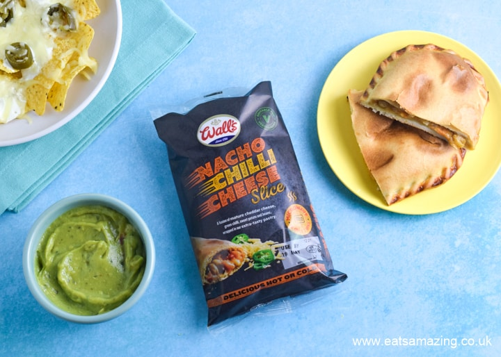 NEW Nacho Chilli Cheese Microwave Slices from Walls - my review and microwave nachos recipe