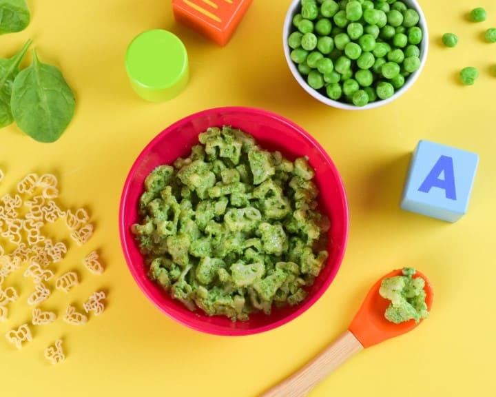 Heinz Lets Cook Animal Shapes Pasta - Spinach and Pea - Eats Amazing Photo Shoot