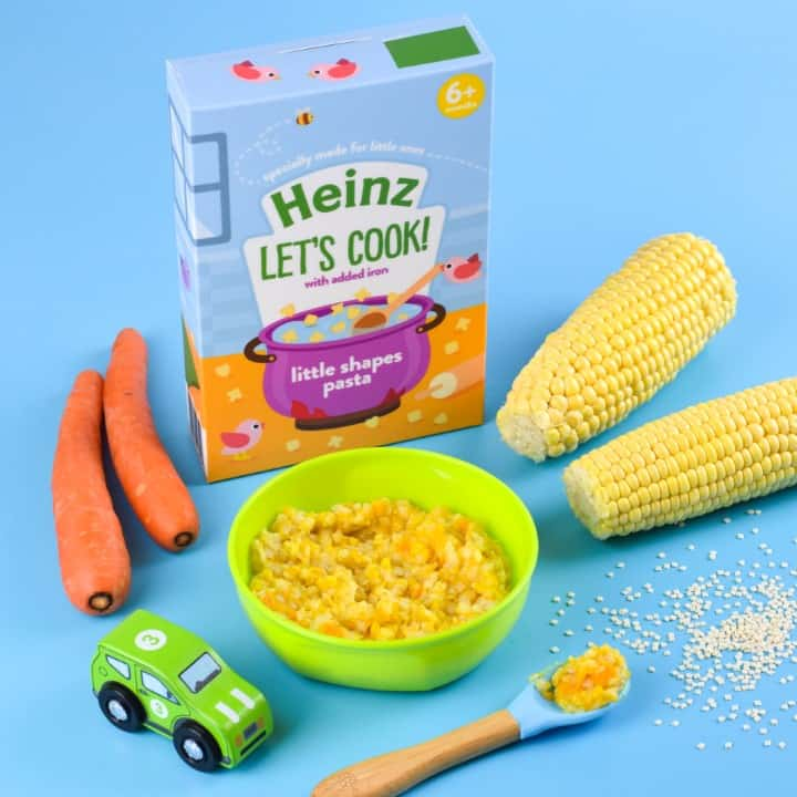 Heinz Lets Cook Little Shapes Pasta - Carrot and Sweetcorn - Eats Amazing Photoshoot