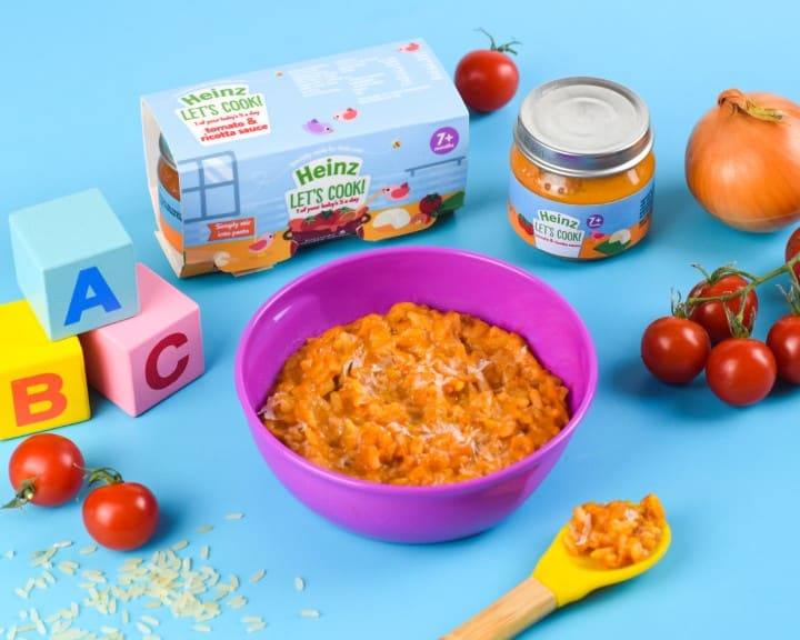 Heinz Lets Cook Tomato and Ricotta Sauce - Risotto - Eats Amazing Photo Shoot