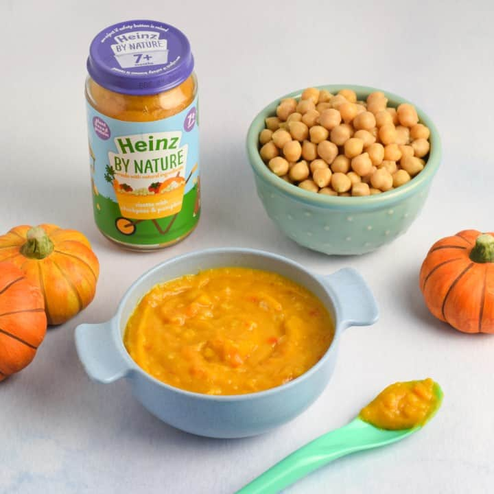 Heinz for Baby Risotto with Chickpeas & Pumpkin - Eats Amazing photo shoot