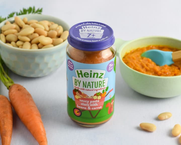 Heinz for Baby Saucy Pasta Stars with Beans & Carrot - Eats Amazing photo shoot