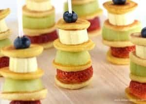 Fruity Mini Pancake Stackers