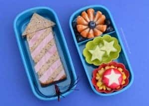 Firework Themed Bento Lunches