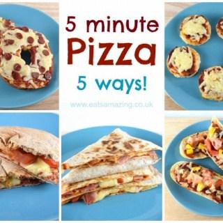 Five Easy Homemade Pizza Recipes