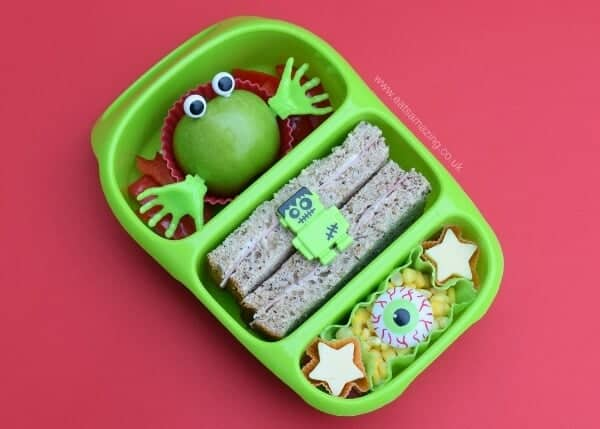 Fun Monster Bento Lunch for Kids in the Goodbyn Bynto lunch box - Eats Amazing UK