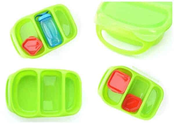 Goodbyn Bynto Kids Lunchbox with compartments review from Eats Amazing - now available in the Eats Amazing UK Bento Shop
