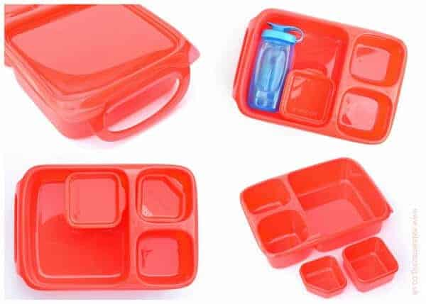 Goodbyn Hero Lunchbox with compartments review from Eats Amazing - now available in the Eats Amazing UK Bento Shop