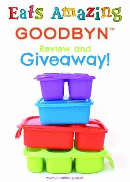 Goodbyn lunch boxes review from Eats Amazing UK - with an awesome Goodbyn giveaway too