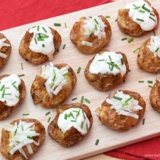 Mini Baked Potatoes Recipe