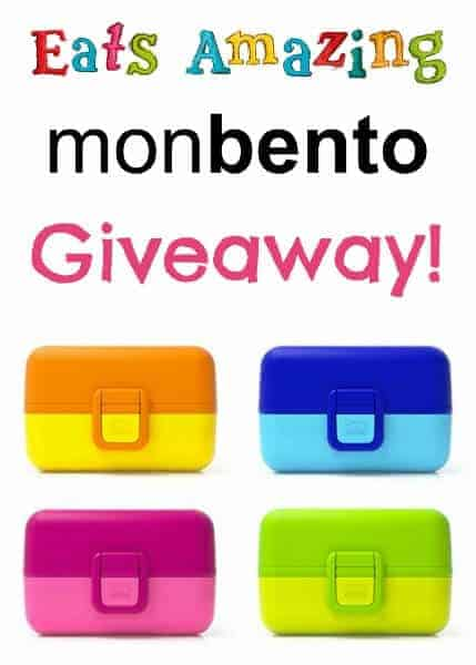 Monbento Tresor review from Eats Amazing UK - bento box for kids with a fantastic giveaway too