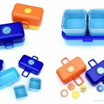Monbento Tresor review from Eats Amazing UK - fun kids bento box - great for packing kids lunches