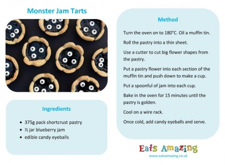 how to make jam tarts for kids