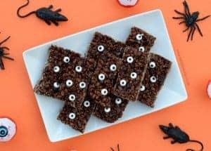 Monster Rice Crispy Treats Recipe