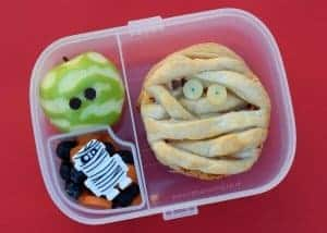 Mummy Bento Lunches for Halloween