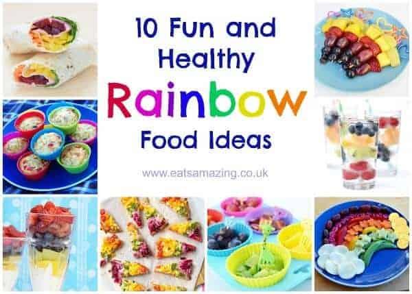 Top 10 Healthy Rainbow Food Ideas Eats Amazing