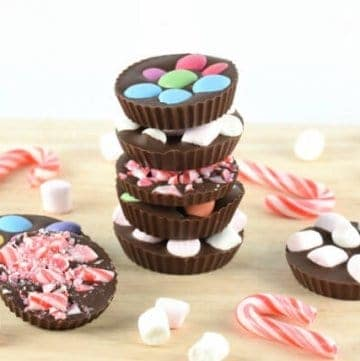 Nutcracker themed food idea - sweet topped chocolate mendiants for a nutcracker party - great homemade gift idea too