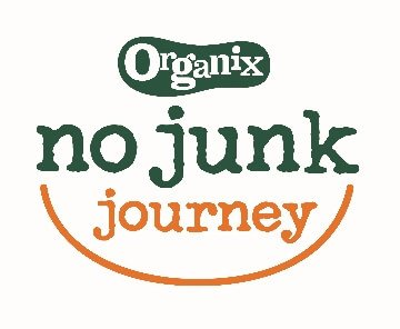 Organix No Junk Journey - Eats Amazing is a No Junk Mum