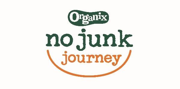 Organix No Junk Journey - Eats Amazing is a No Junk Mum