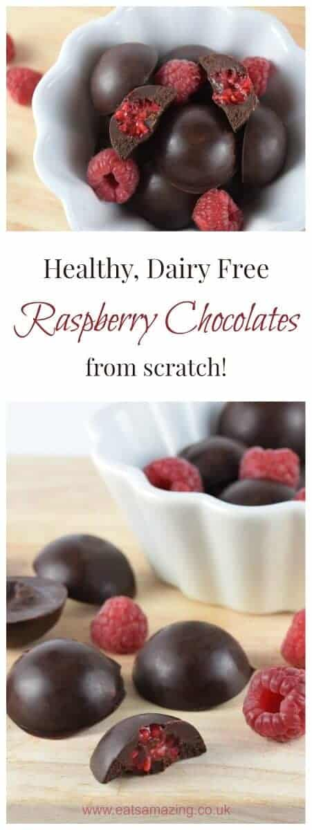 Really quick and easy dairy free chocolates recipe from Eats