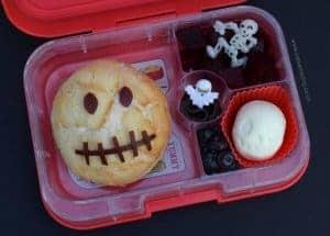 Spooky Skull Bento for Halloween