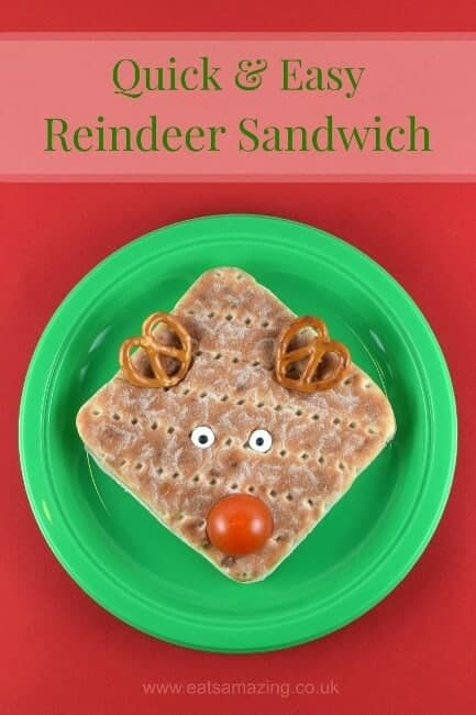 Festive reindeer sandwich with hovis good inside eats for What fast food is open on christmas day