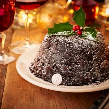The Royal Mint Christmas Pudding recipe for Stir Up Sunday